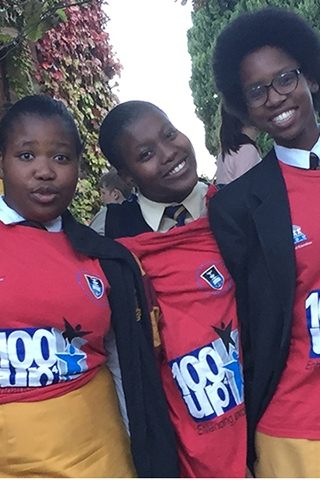 100-UP at UCT Open Day